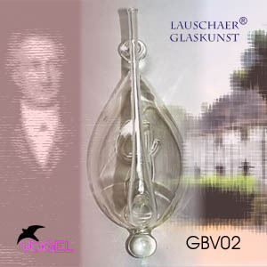 Goethebarometer - historical water glass