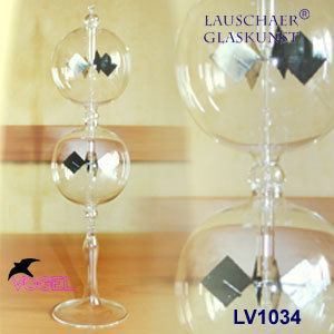 Radiometer double sphere with stand clear