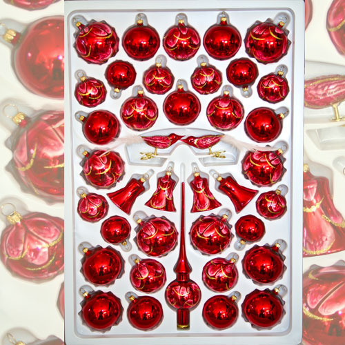 "Christmas assortment ""Naturzeit Red"""