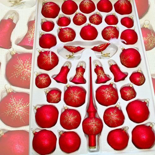 "Christmas assortment ""Mystic Red"""