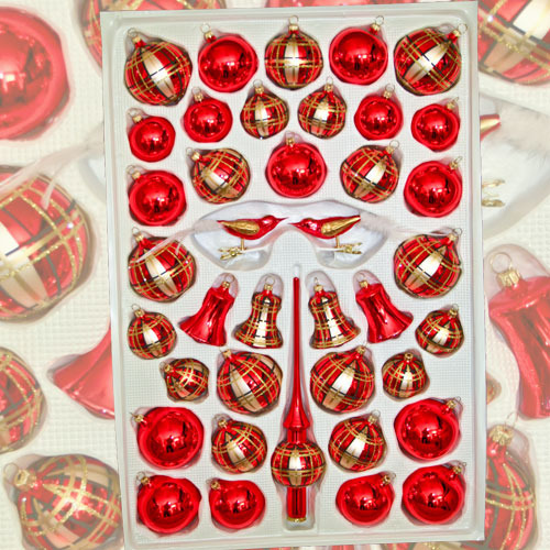 "Christmas assortment ""Exclusiv Red"""