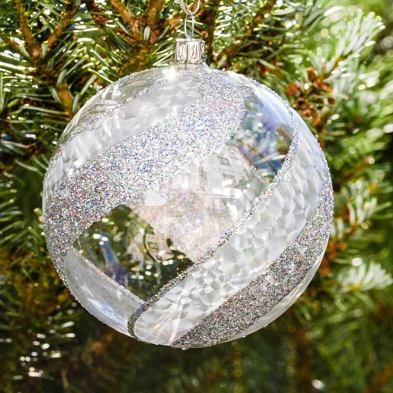 Christbaumkugeln Lauscha.Christmas Tree Balls Frost