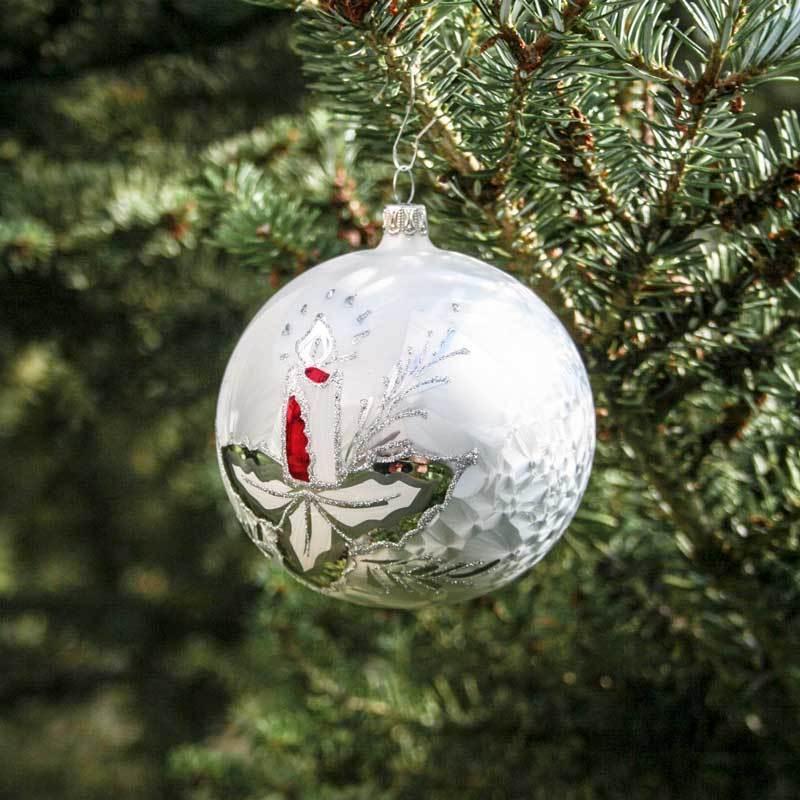 Christbaumkugeln Lauscha.Christmas Tree Balls 6 Cm Marchenzeit