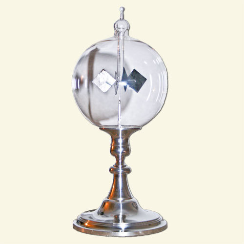 Radiometer with a tin feet