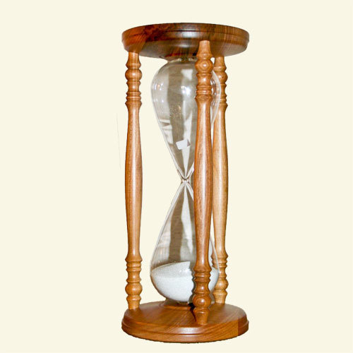 Sand timer Model Walnut / Noyer Hourglass Model