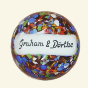 Paperweight with your name