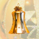 Christmas tree bell Avantgarde
