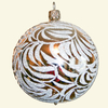 Christmas ball Crystal 10 cm