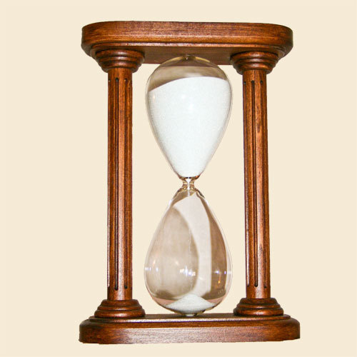 Rosewood Hourglass