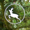 Roebuck in a glass ring