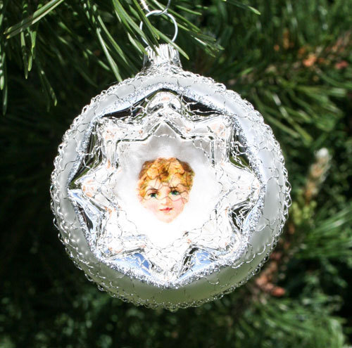 Reflex bauble with picture