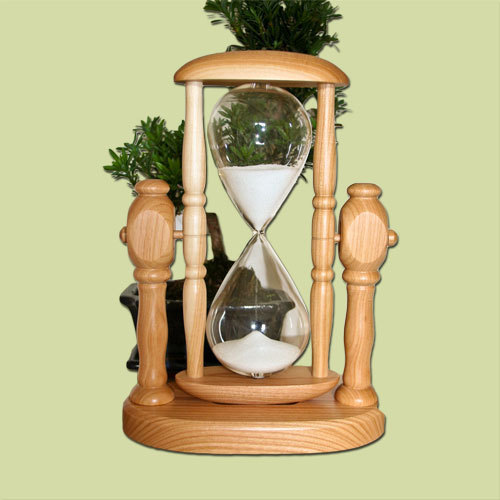 "Sand timer model ""Maritim"" Cherry wood"