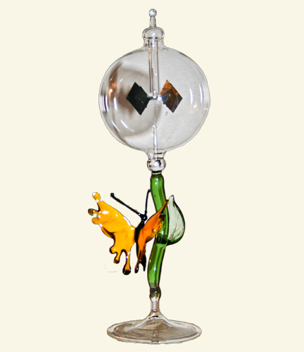Radiometer with Butterfly