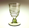 Glass goblet with wire edition