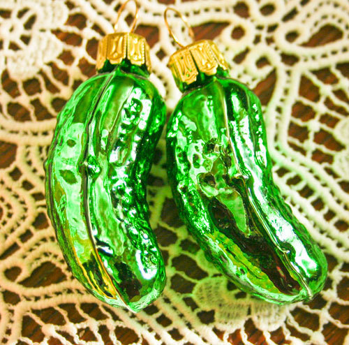 little christmas pickle
