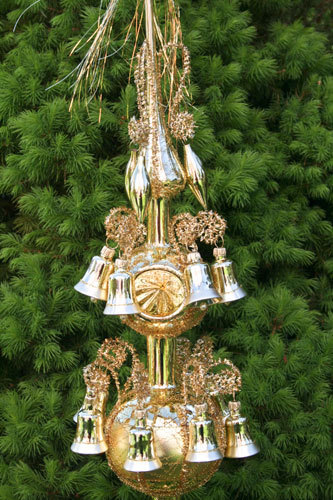 "Big Christmas topper ""Old Lauscha"""