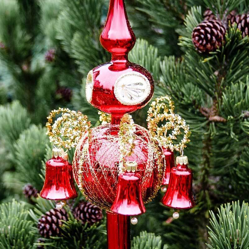 Christmas Tree Topper Old Lauscha Lauscha Glass Art